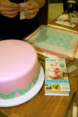 Cricut Cake Martha Stewart