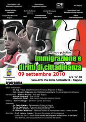 Immigrazione e diritti di cittadinanza - Locandina