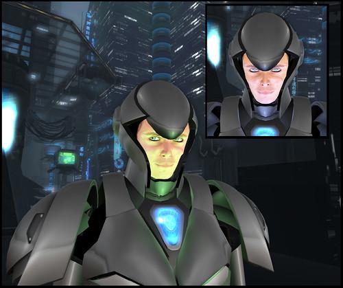 Male Warrior AV - helmet2