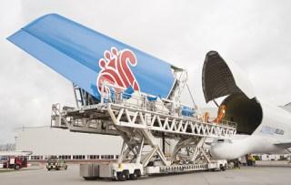 Penacho de la cola del A380 CSA