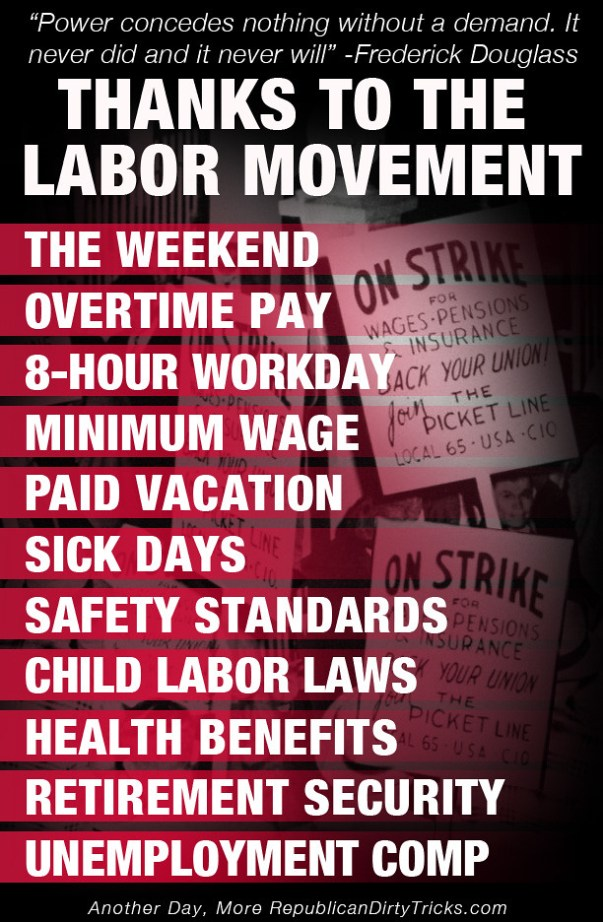 The True Meaning Of Labor Day Strength In Numbers Rdtdailyrdtdaily