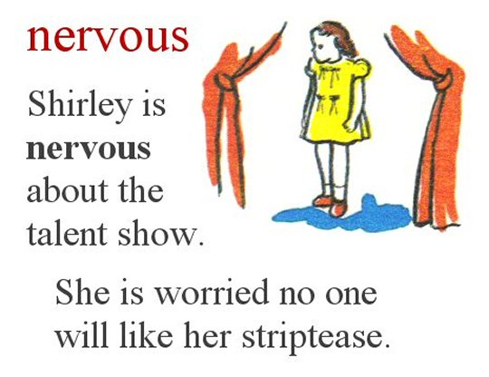 Nervous Shirley