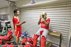 Virat Kohli and Praveen Kumar