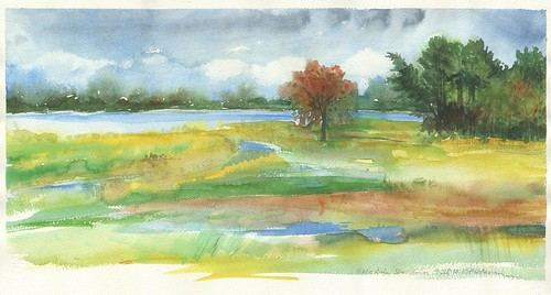 Sketch: Necedah National Wildlife Refuge