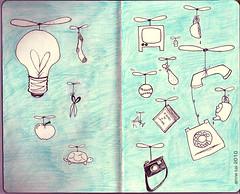 The Sketchbook Project - pg 3&4