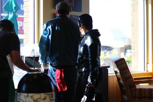 Starbucks: light and shadow