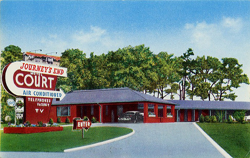 Journey's End Motel, Greensboro, NC by Dean Jeffrey