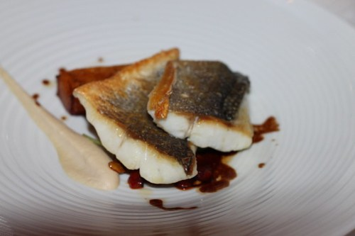 Sea Bass at the Castlemartyr Resport, Cork