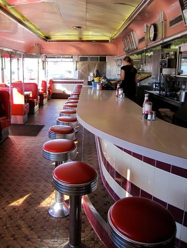 Glider Diner Interior