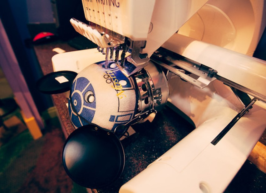 My R2D2 Mickey Ears getting made