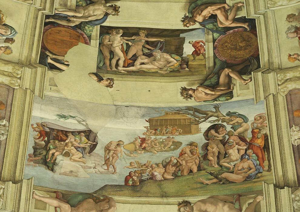 5188686715 b85b57f722 b Sistine Chapel   Incredible Christian art walk through