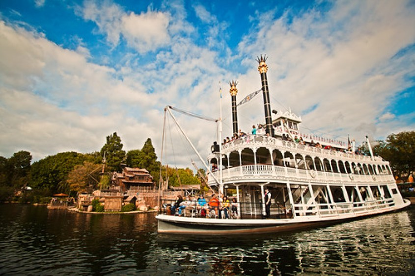 Mark Twain Riverboat, Disneyland