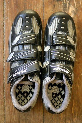bike shoes!