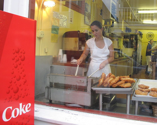 Portuguese bakery girl