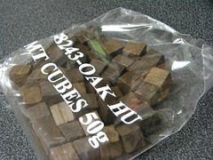 Bag of Oak Cubes