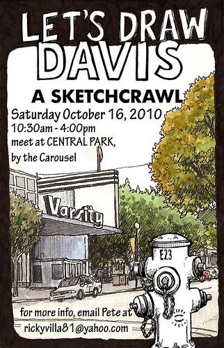 let's draw davis!