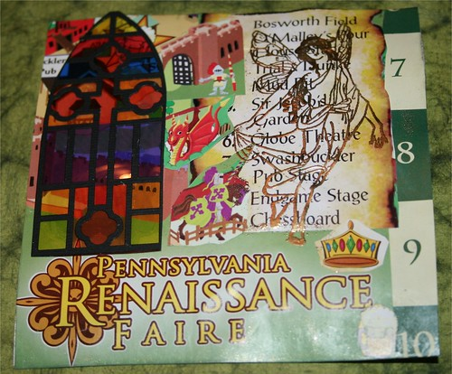 "PA RenFaire 4"" x 4"" Collage Card"
