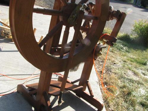 John Westlake Spinning Wheel Oct 2010
