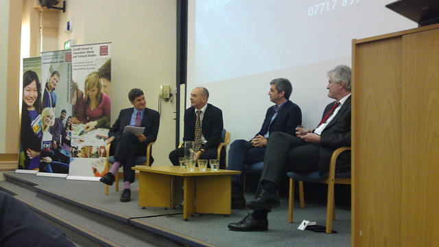 Tomorrow's journalists conference at Cardiff University