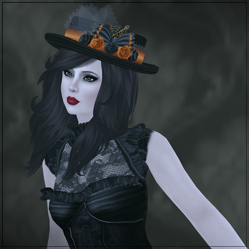 Hatpins - Lady Rosemary - Halloween