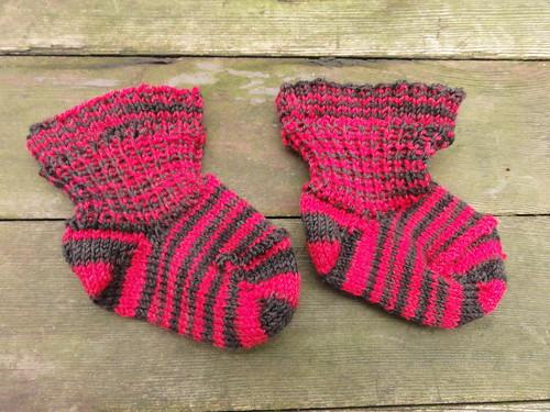 Blackhawks Baby Socks