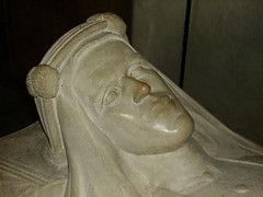 The head of the effigy of T.E.Lawrence in St M...