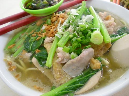 Jalan Alor KL - pork soup noodles