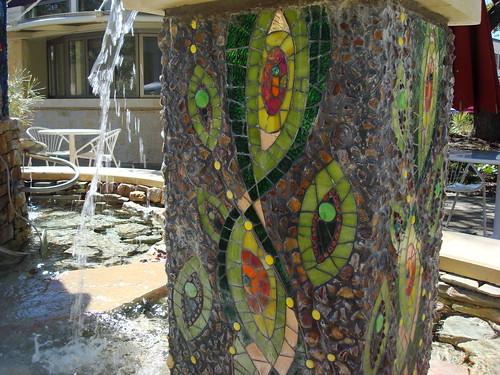 fountain at La Cantera