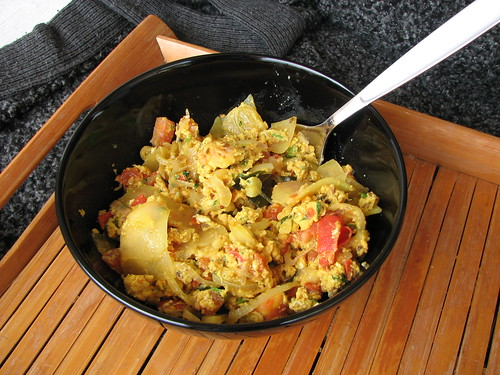 Indian Scrambled Eggs Improvisation 2