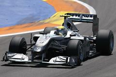 Rosberg during Q2