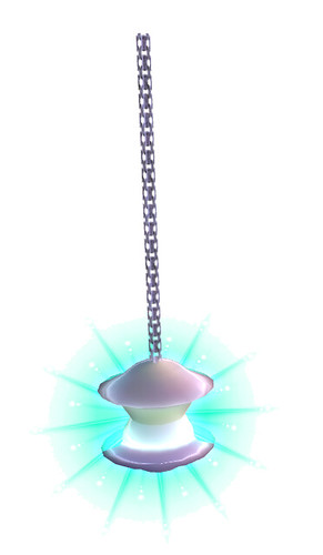 Hearth and Home Alien Spaceship Hanging lamp