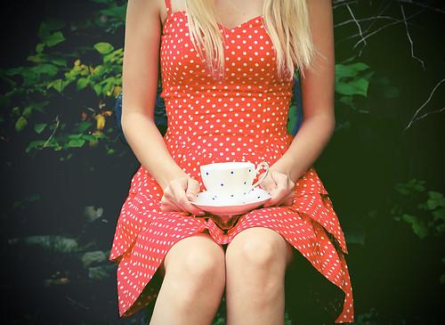 polka dot tea party