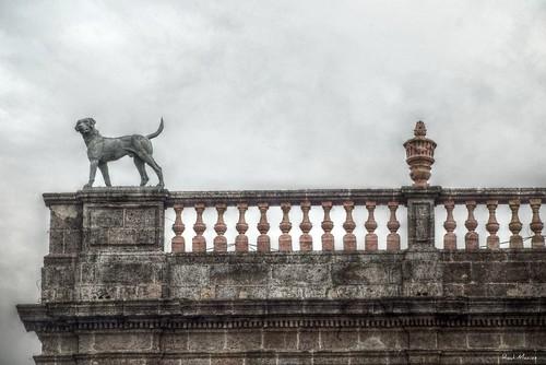 Estatua de la Casa de los Perros