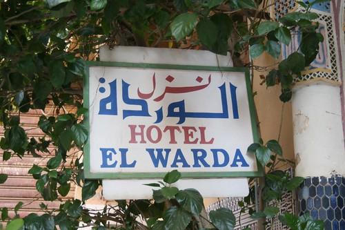 Hotel El Warda en Taroudant, Hotel barato en Taroudant Marruecos