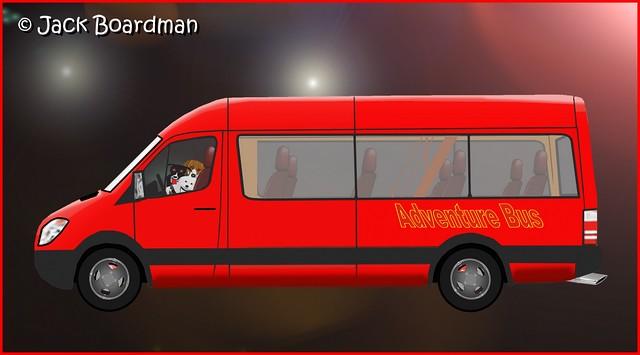 Adventure Bus in Cyberspace