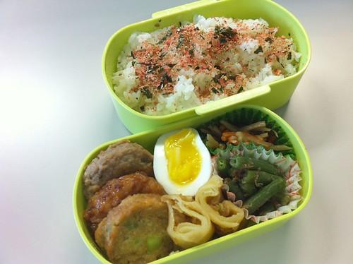 今日のお弁当 - 2010.08.27