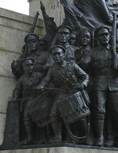 Sir William Goscombe John, The Response 1914 (left hand side group) IMG_3522