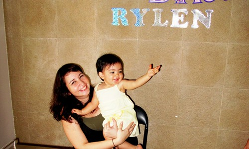 Rylen and Mom