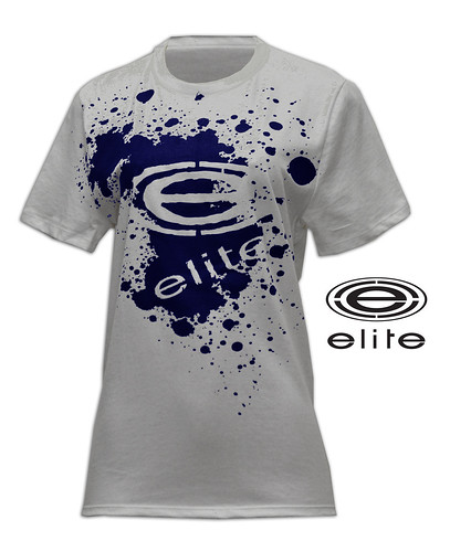 February 2011 Elite Store navy splatter girls