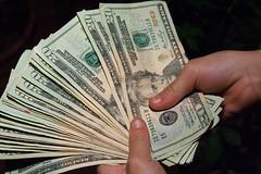 Money Hand Holding Bankroll Girls February 08,...