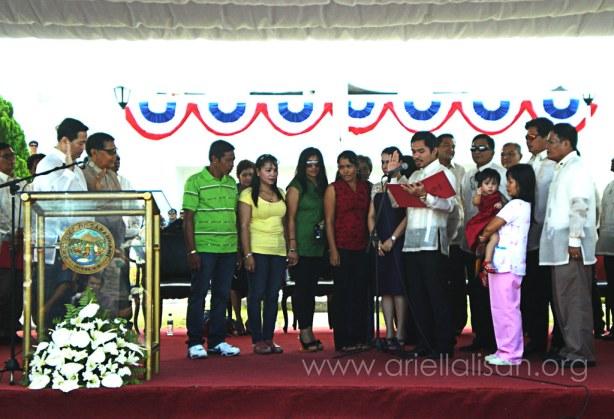 Congressman Pacquiao Inauguration Picture