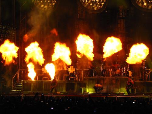Rammstein live in Villafranca di Verona