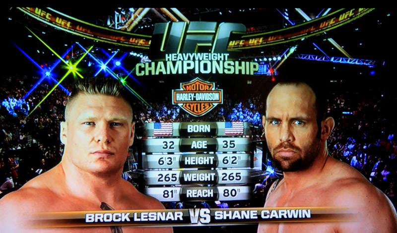 UFC 116 Lesnar v. Carwin