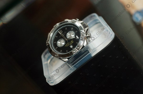 """Zodiac watch with """"Tim Cahill"""" signature"""
