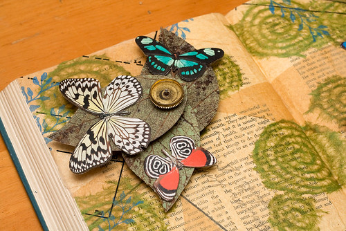 Altered book - movable parts book-3