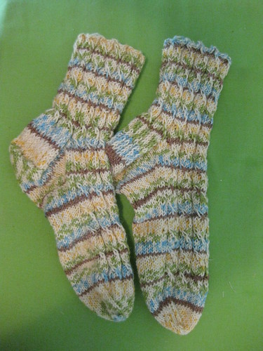 cable twist socks