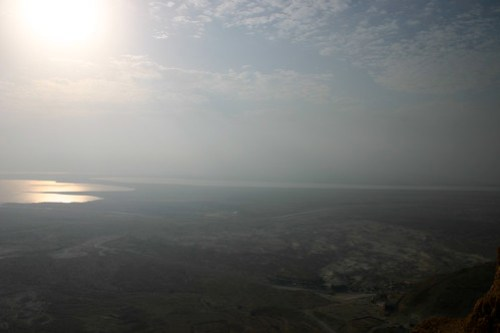 Dead Sea morning