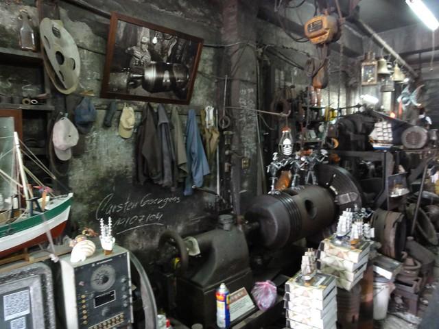 維妮兔教學屋   不像鋼鐵廠的「三剛鐵工廠文物館」
