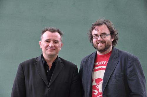 Declan Hughes and Stuart Neville