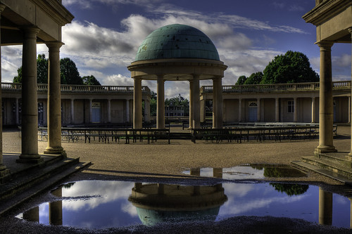 Eaton Park reflection. Norwich UK